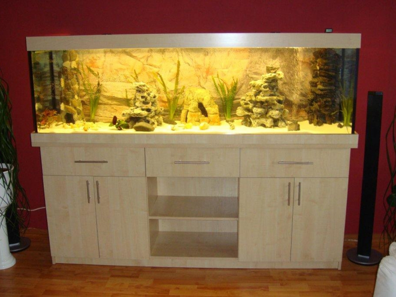 Aquarium unterschrank classic r 200x50 rechteck bei meduza6 for Aquarium unterschrank